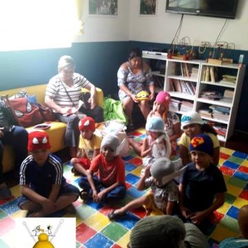 Fios Encantados visita a casa CAMACC em São Paulo