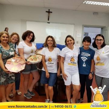 Campanha Pizza Solidária foi um sucesso
