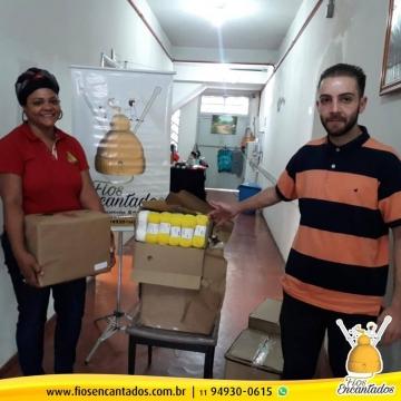 Fundação Assefaz entrega doação aos Fios Encantados