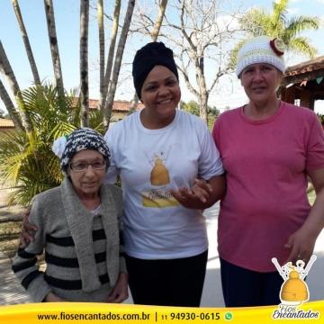 Visita em Campo Limpo Paulista leva amor a idosos