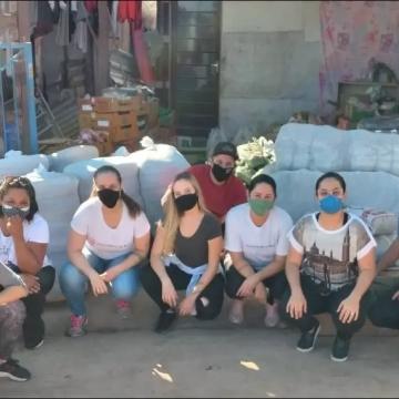 Corrente do Bem recebe doação de máscaras