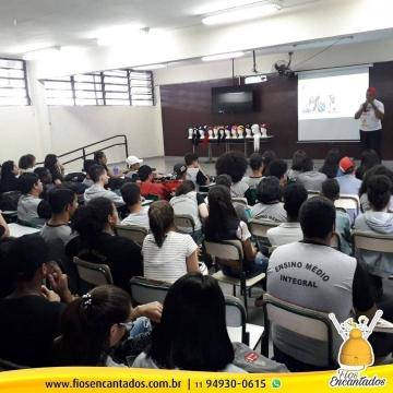 Fios Encantados faz palestras em Franco da Rocha